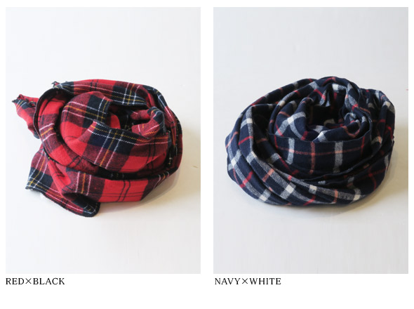Engineered Garmentsのスカーフの詳細画像