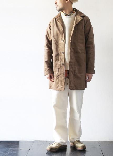 EG Workadayのコートのモデル着用画像