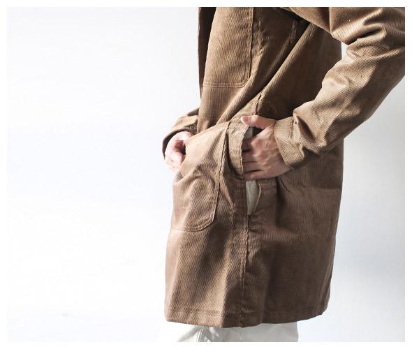 EG Workadayのコートの詳細画像